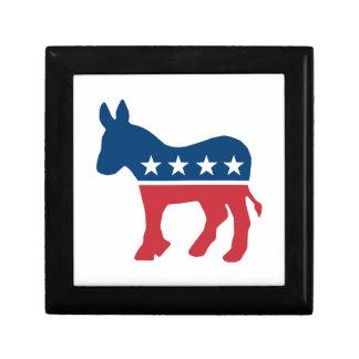 Democratic Donkey Keepsake Box