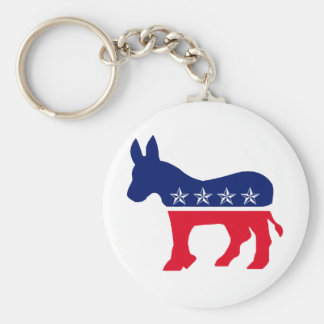 Democratic Donkey Key Chains