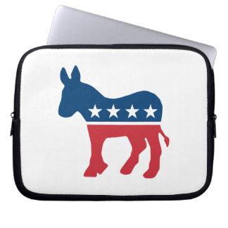 Democratic Donkey Computer Sleeves