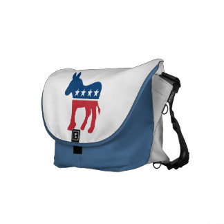 Democratic Donkey Messenger Bag