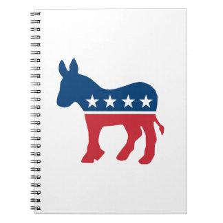 Democratic Donkey Note Books