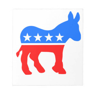 Democratic Donkey Notepad
