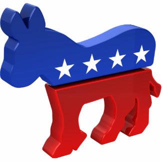 Democratic Donkey Standing Photo Sculpture