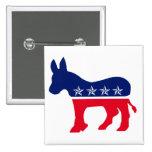 Democratic Donkey Pins
