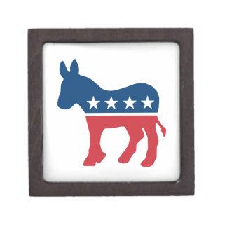 Democratic Donkey Premium Trinket Box
