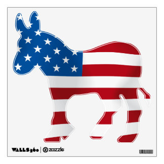 Democratic Donkey Wall Decal
