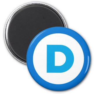 Democratic Imán De Frigorífico