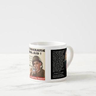 Democratic Kool-Aid Mug Know What You're Drinking 6 Oz Ceramic Espresso Cup