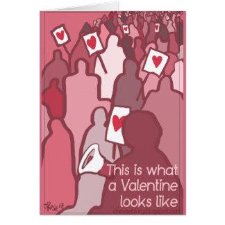 Democratic Love Card