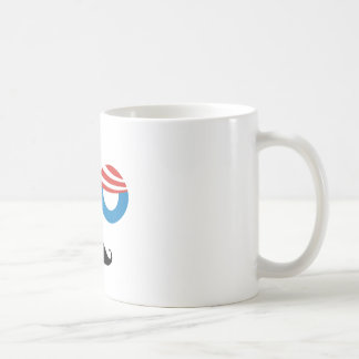 Democratic Man - Mustache You A Question Coffee Mug