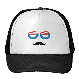 Democratic Man - Mustache You A Question Trucker Hat