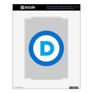 Democratic NOOK Decals