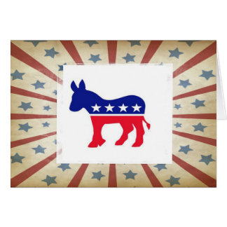 Democratic Note Cards - Thank You, etc.