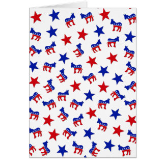 Democratic Party Collage Card