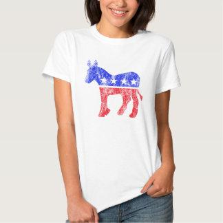 Democratic Party Donkey Vintage T-shirt