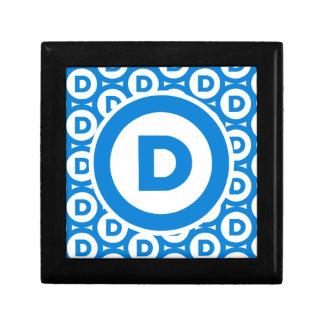Democratic Party Logo Gift Box