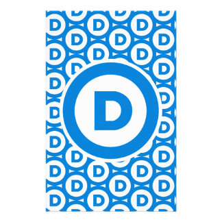 Democratic Party Logo Stationery