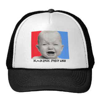 democratic party logo trucker hat