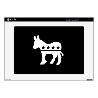 Democratic Party Pictogram Latop Skin Decals For Laptops