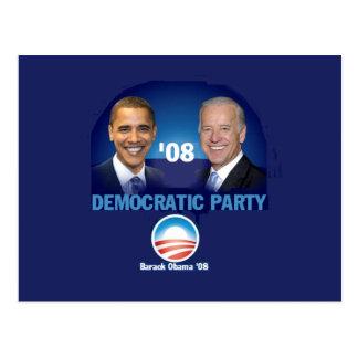 Democratic Party Postcard