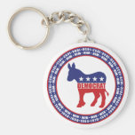 Democratic Party Wins Keychain