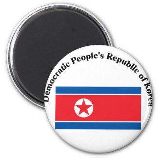 Democratic People's Republic of Korea-2 Fridge Magnets