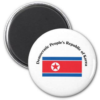 Democratic People's Republic of Korea-2 Refrigerator Magnets