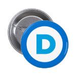 Democratic Pin