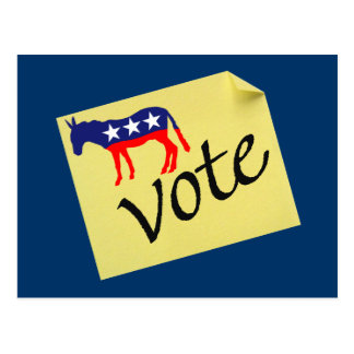 Democratic Post Card