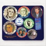 Democratic Presidents - Mousepad