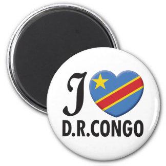 Democratic Republic Congo Fridge Magnet