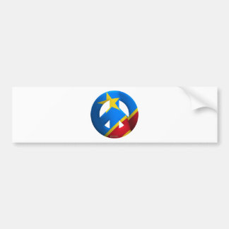 Democratic Republic of Congo Bumper Sticker