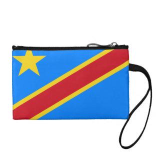 Democratic Republic of Congo Flag Coin Wallet