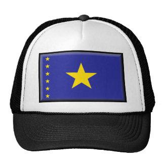 Democratic Republic of Congo Flag Mesh Hat