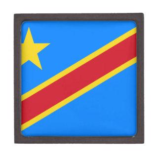 Democratic Republic of Congo Flag Keepsake Box