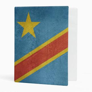 Democratic Republic of Congo Flag Mini Binder
