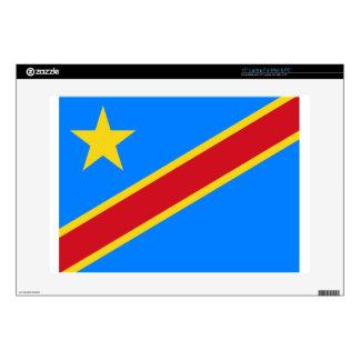 "Democratic Republic of Congo Flag Skins For 15"" Laptops"