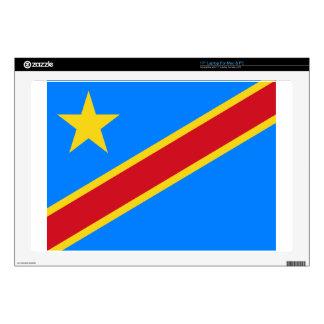 "Democratic Republic of Congo Flag Skins For 17"" Laptops"