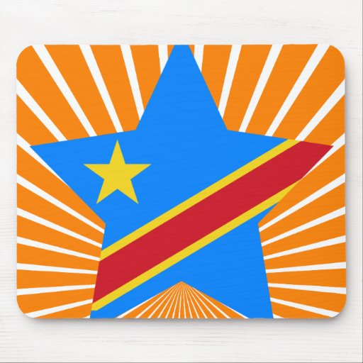 Democratic+Republic+of+Congo Star Mouse Pad