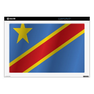 "Democratic Republic of the Congo 17"" Laptop Skins"