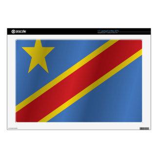 "Democratic Republic of the Congo 17"" Laptop Skins"