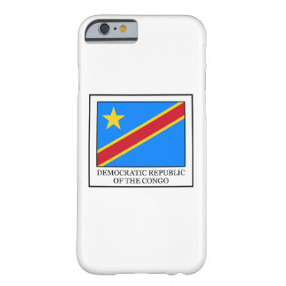 Democratic Republic of the Congo Barely There iPhone 6 Case