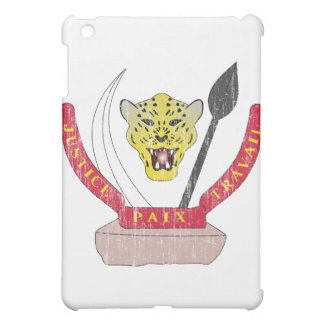 Democratic Republic Of The Congo Coat Of Arms Cover For The iPad Mini