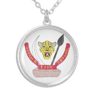 Democratic Republic Of The Congo Coat Of Arms Custom Necklace