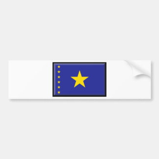 Democratic Republic of the Congo Flag Bumper Sticker