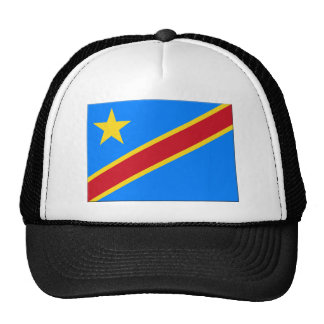 Democratic Republic of the Congo Flag Hats