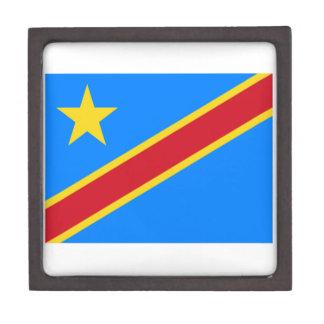 Democratic Republic Of The Congo Flag Keepsake Box