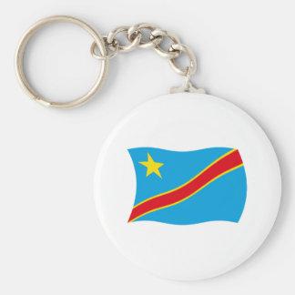 Democratic Republic of the Congo Flag Keychain