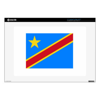 """Democratic Republic Of The Congo Flag Skins For 15"""" Laptops"""
