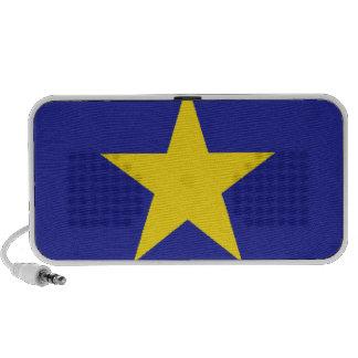Democratic Republic of the Congo Flag Portable Speaker